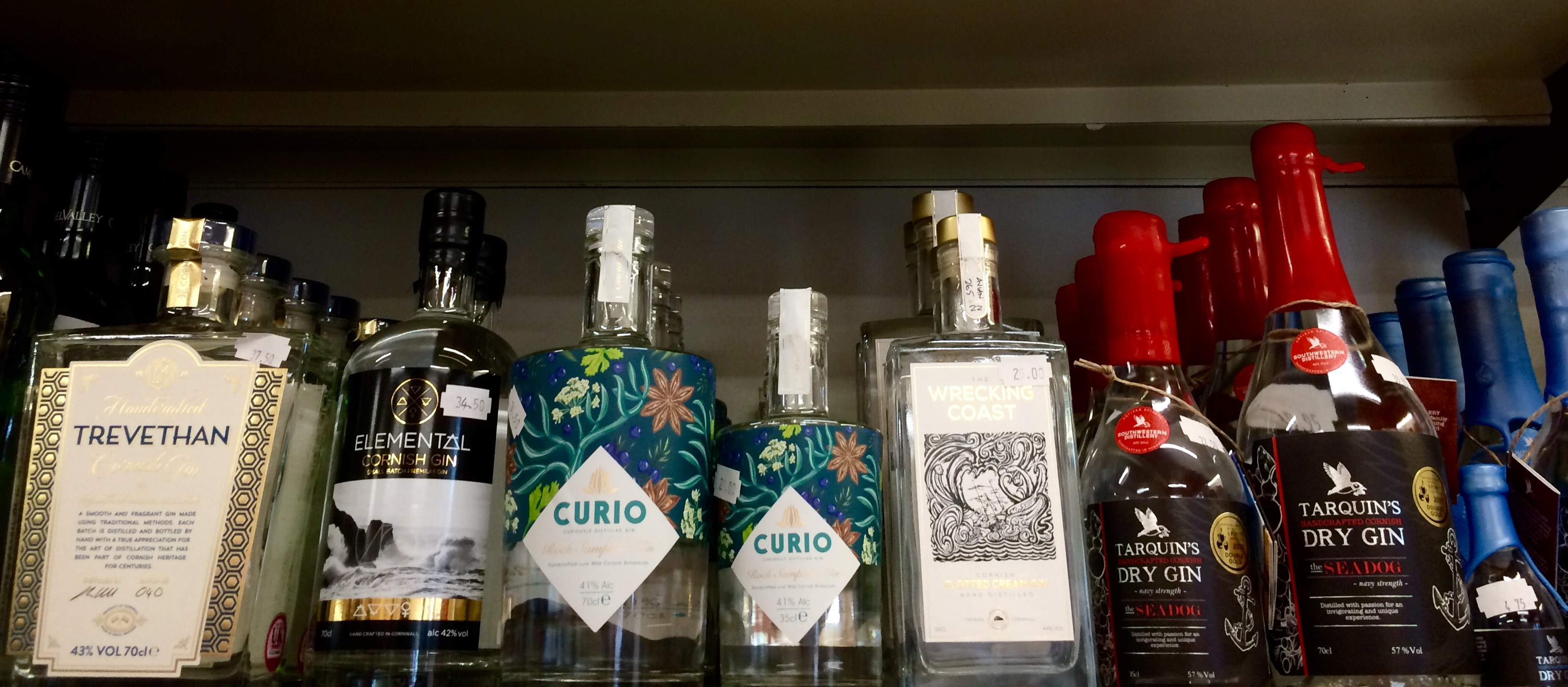 Cornish Gins And Spirits
