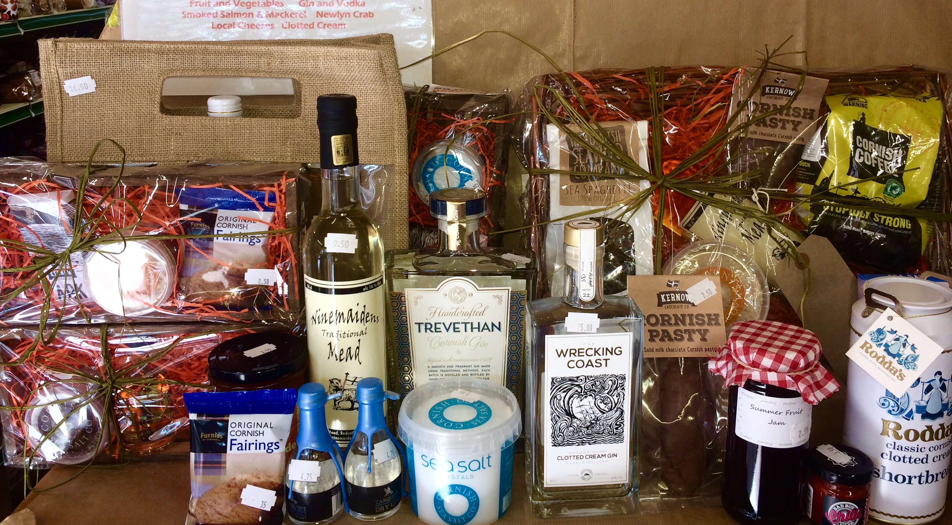 Cornish Produce Hampers